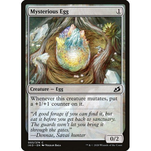 Uovo Misterioso  (Lingua: Inglese - Stato: Near Mint)