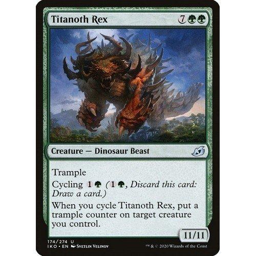 Titanos Rex  (Lingua: Inglese - Stato: Near Mint)