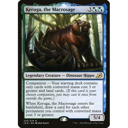 Keruga, il Macrosavio  (Lingua: Inglese - Stato: Near Mint)