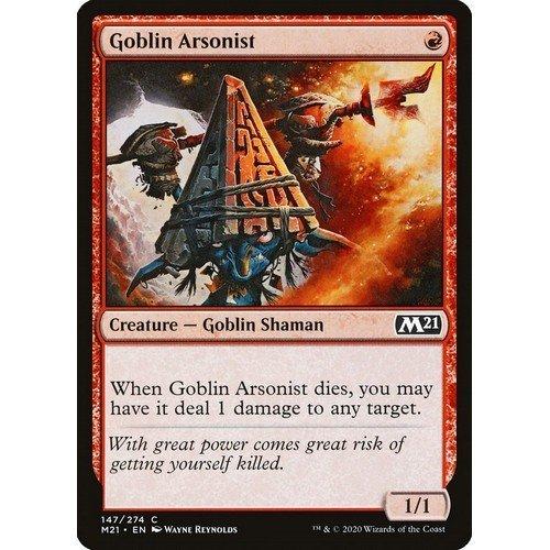 Goblin Inceneritore  (Lingua: Inglese - Stato: Near Mint)