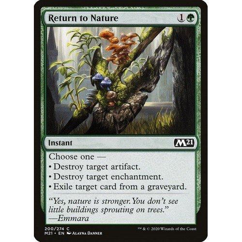 Restituire alla Natura  (Lingua: Inglese - Stato: Near Mint)