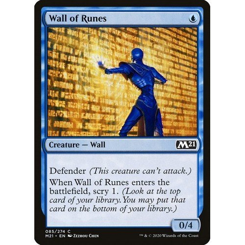 Muro di Rune  (Lingua: Inglese - Stato: Near Mint)