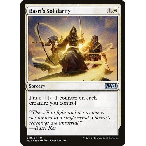 Solidarietà di Basri  (Lingua: Inglese - Stato: Near Mint)