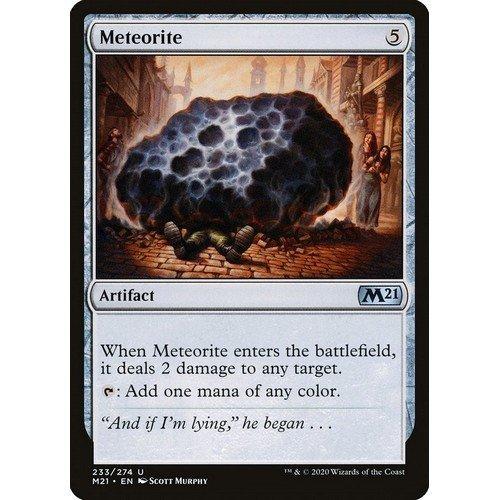 Meteorite  (Lingua: Inglese - Stato: Near Mint)