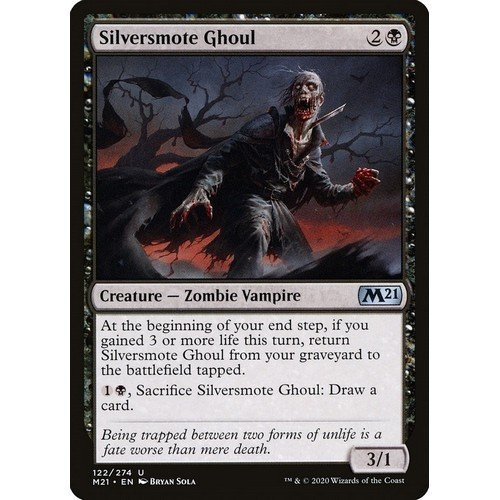 Ghoul Argentificato  (Lingua: Inglese - Stato: Near Mint)
