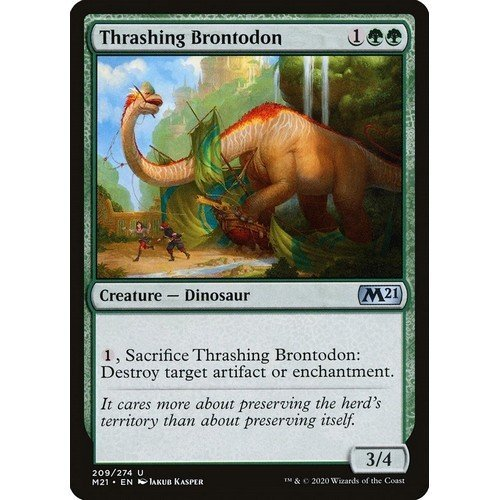 Brontodonte Devastatore  (Lingua: Inglese - Stato: Near Mint)