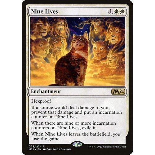 Nove Vite  (Lingua: Inglese - Stato: Near Mint)