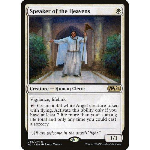Oratore dei Cieli  (Lingua: Inglese - Stato: Near Mint)