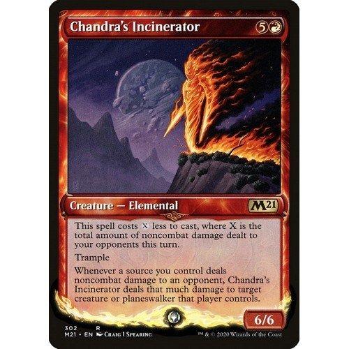 Inceneritore di Chandra  (Lingua: Inglese - Stato: Near Mint)