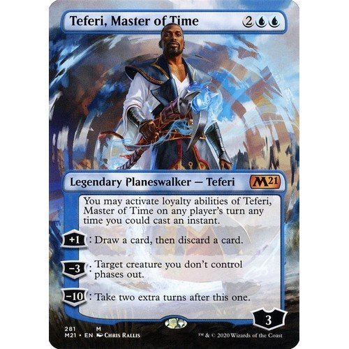 Teferi, Maestro del Tempo  (Lingua: Inglese - Stato: Near Mint)