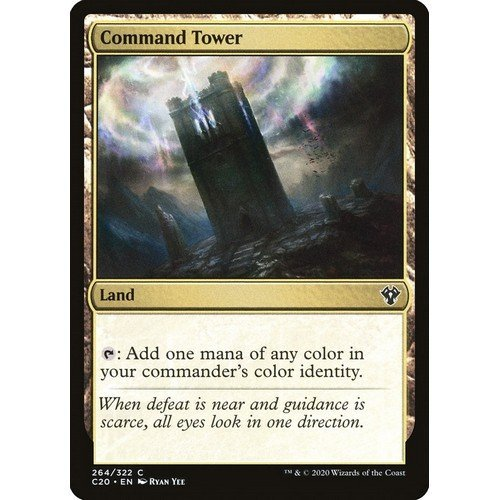Torre di Comando  (Lingua: Inglese - Stato: Near Mint)
