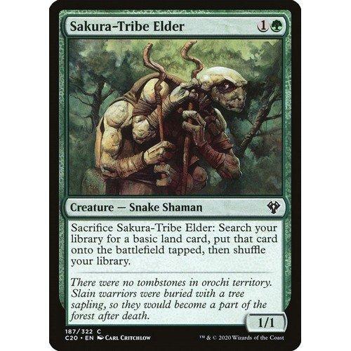 Anziano della Tribù-Sakura  (Lingua: Inglese - Stato: Near Mint)