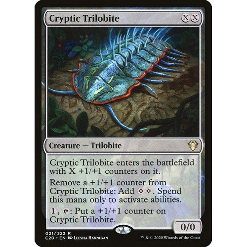 Trilobite Criptica  (Lingua: Inglese - Stato: Near Mint)