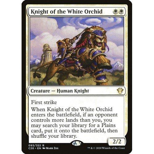 Cavaliere dell'Orchidea Bianca  (Lingua: Inglese - Stato: Near Mint)