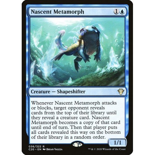 Metamorfo Nascente  (Lingua: Inglese - Stato: Near Mint)