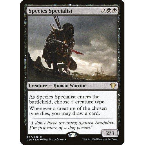 Species Specialist  (Lingua: Inglese - Stato: Near Mint)