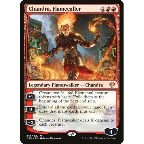 Chandra, Evocatrice di Fiamme  (Lingua: Inglese - Stato: Near Mint)