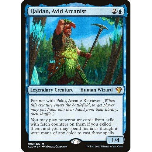 Haldan, Avido Arcanista  (Lingua: Inglese - Stato: Near Mint)