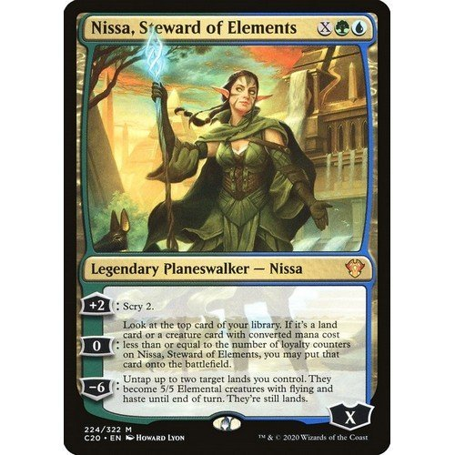 Nissa, Guardiana degli Elementi  (Lingua: Inglese - Stato: Near Mint)