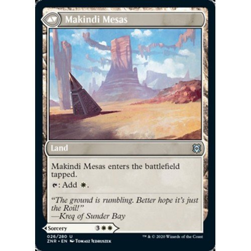Carica di Makindi // Mesa di Makindib  (Lingua: Inglese - Stato: Near Mint)