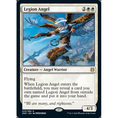 Angelo della Legione  (Lingua: Inglese - Stato: Near Mint)