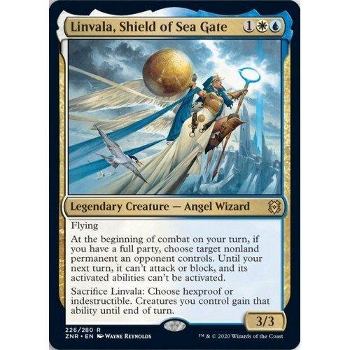 Linvala, Shield of Sea Gate  (Lingua: Inglese - Stato: Near Mint)