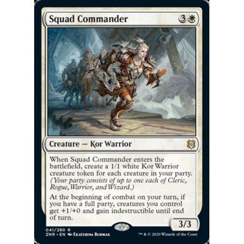 Comandante della Squadra  (Lingua: Inglese - Stato: Near Mint)