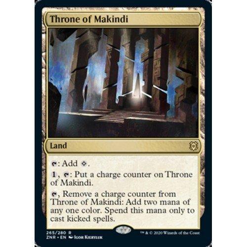 Trono di Makindi  (Lingua: Inglese - Stato: Near Mint)