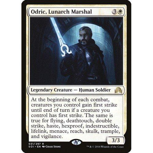 Odric, Maresciallo del Lunarca  (Lingua: Inglese - Stato: Near Mint)