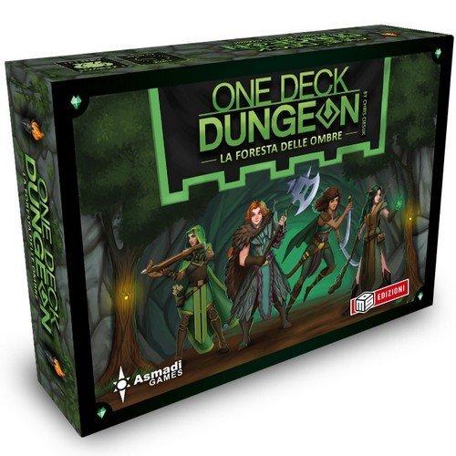One Deck Dungeon: La Foresta delle Ombre + PROMO  (Lingua: Italiano - Stato: Nuovo)