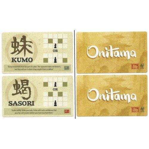 Onitama: Carte Promo Sasori & Kumo  (Lingua: Inglese - Stato: Nuovo)