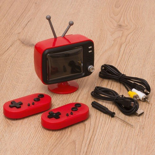 ORB Retro Console Mini TV 300in1  (Language: English - Conditions: New)