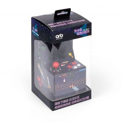 ORB Retro Mini Arcade Machine  (Language: English - Conditions: New)