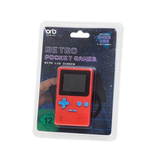 ORB Retro Portbale Handheld Console 10 cm  (Lingua: Inglese - Stato: Nuovo)