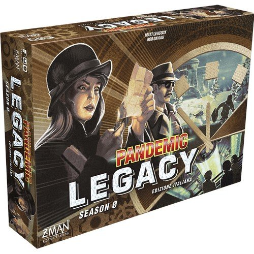 Pandemic Legacy Season 0  (Lingua: Italiano - Stato: Nuovo)