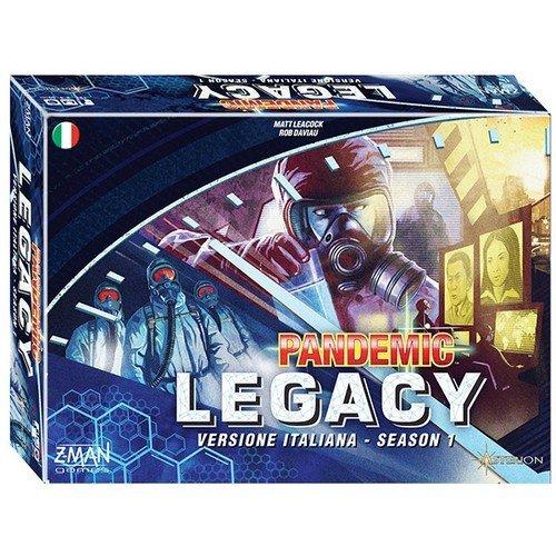 Pandemic Legacy Season 1, Scatola Blu - ITA  (Lingua: Italiano - Stato: Nuovo)