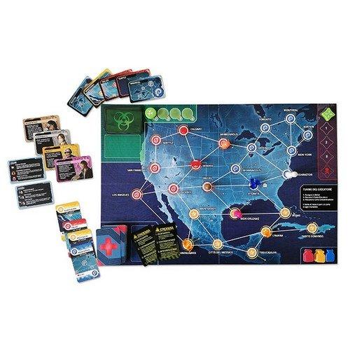 Pandemic: Zona Rossa, Nord America  (Lingua: Italiano - Stato: Nuovo)