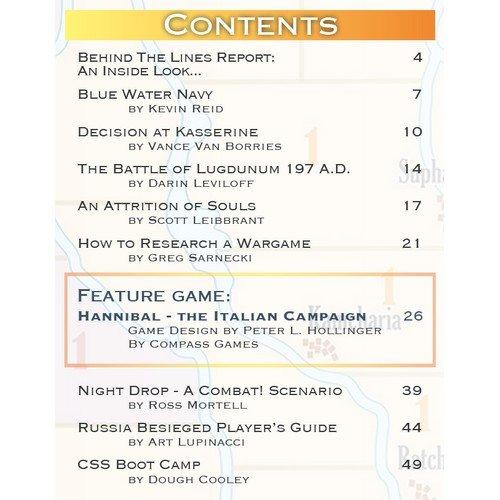 Paper Wars Issue 95: Hannibal The Italian Campaign  (Lingua: Inglese - Stato: Nuovo)