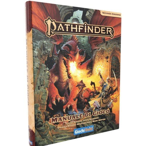 Pathfinder Core Rulebook 2nd Edition  (Language: Italian - Conditions: New)