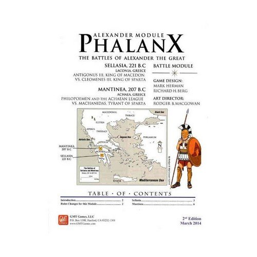 Phalanx, Great Battles of Alexander Module 2nd Edition March 2014  (Lingua: Inglese - Stato: Nuovo)