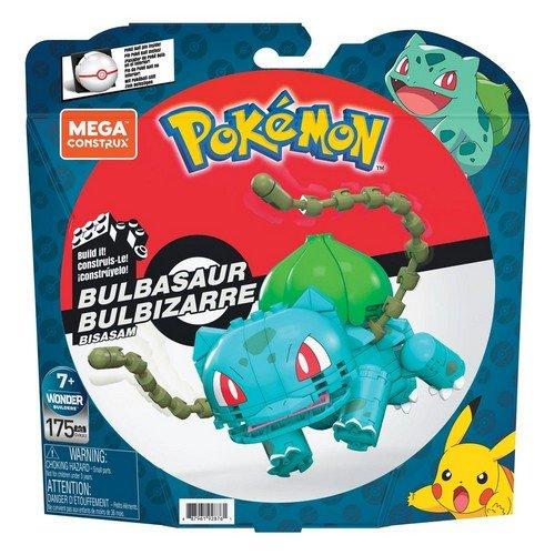 Pokémon Mega Construx Wonder Builders Construction Set Bulbasaur 10 cm  (Stato: Nuovo)
