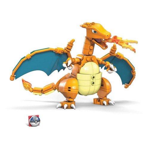 Pokémon Mega Construx Wonder Builders Construction Set Charizard 10 cm  (Stato: Nuovo)