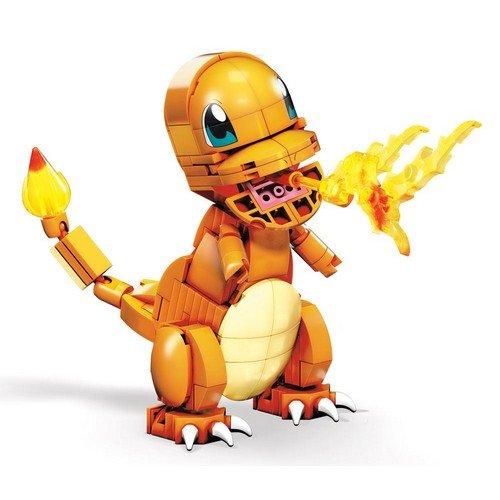 Pokémon Mega Construx Wonder Builders Construction Set Charmander 10 cm  (Stato: Nuovo)