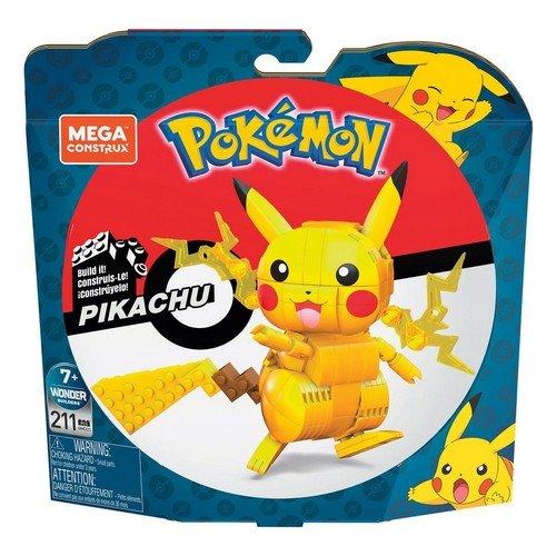Pokémon Mega Construx Wonder Builders Construction Set Pikachu 10 cm  (Stato: Nuovo)