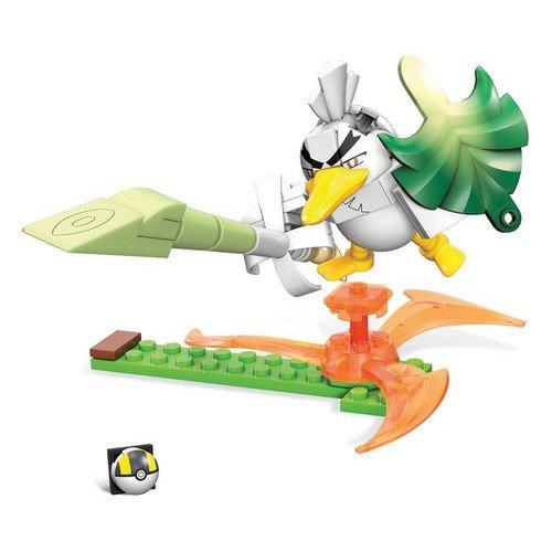 Pokémon Mega Construx Wonder Builders Construction Set Sirfetch'd 10 cm  (Stato: Nuovo)