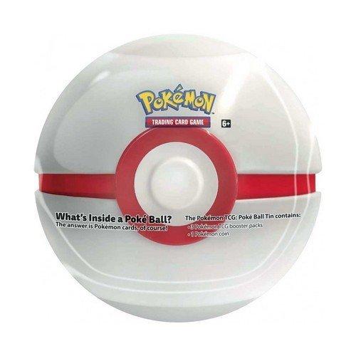 Pokemon Tin Poke Ball 2021 Bianca  (Lingua: Italiano - Stato: Nuovo)