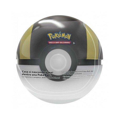 Pokemon Tin Poke Ball 2021 Nera  (Lingua: Italiano - Stato: Nuovo)