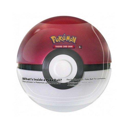 Pokemon Tin Poke Ball 2021 Rossa  (Lingua: Italiano - Stato: Nuovo)