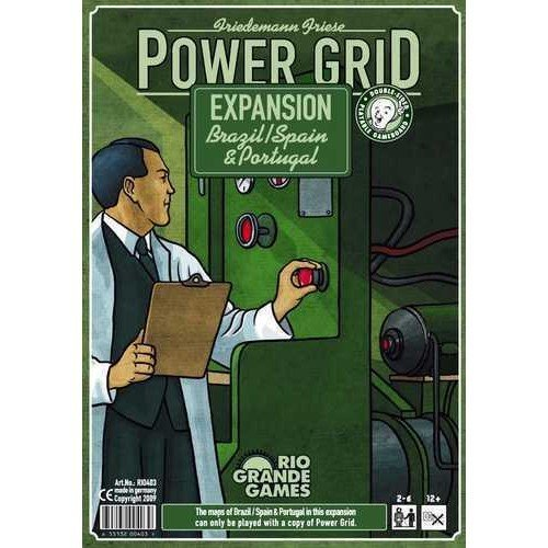 Power Grid: Brazil/Spain & Portugal - Expansion  (Language: English - Conditions: New)