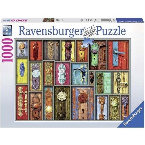 Puzzle 1000: Antiche Maniglie  (Lingua: Multilingua - Stato: Nuovo)